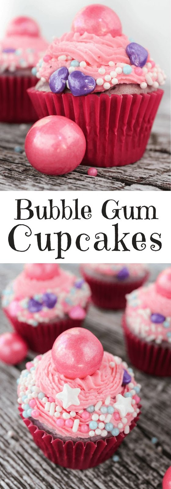 Bubblegum Cupcakes Cake Mix