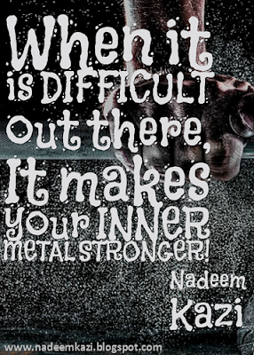 Nadeem Kazi Quotes, Gym Quotes, Dream Quotes, Facing Challenges, Facing fear,