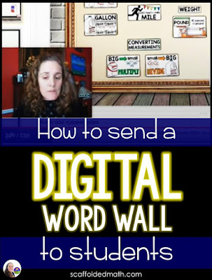 In this post, you will learn exactly how to send a digital word wall to students. The steps are super simple. You will be able to edit your digital word wall and those edits will magically appear on the word wall shared with students. Cool! Here is a short video tutorial:
