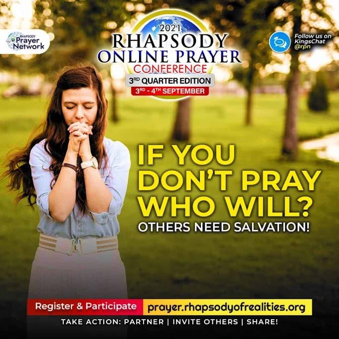 2021 RHAPSODY ONLINE PRAYER CONFERENCE 3rd Quarter Edition