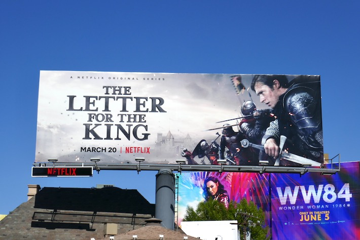 Letter for the King season 1 billboard