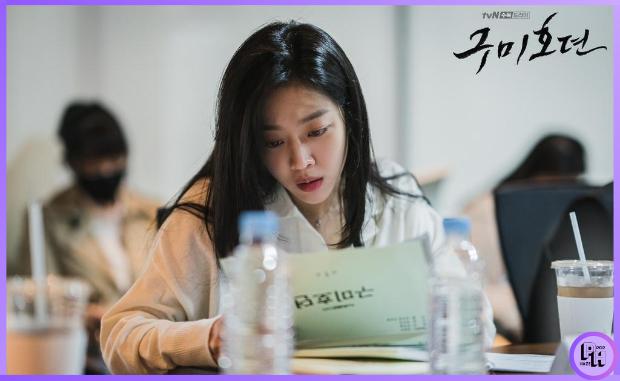 Jo Ba Ah during script reading