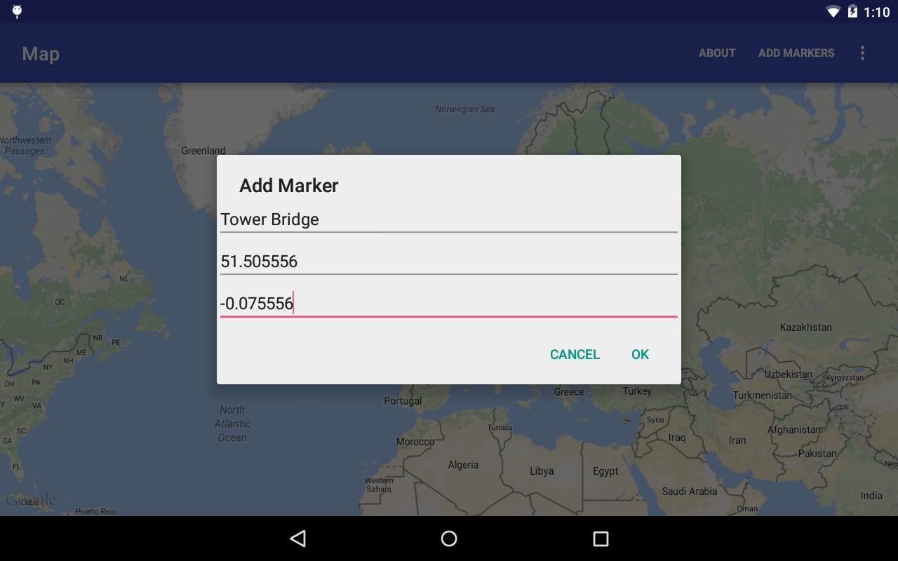 Add Marker to Google Map (Google Maps Android API v2