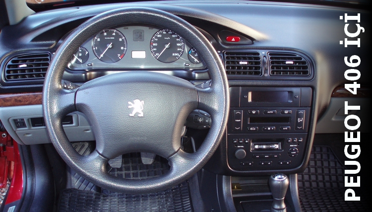Peugeot 406 İçi