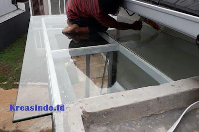 Jasa Canopy Besi Atap Kaca di Bandung dan sekitarnya