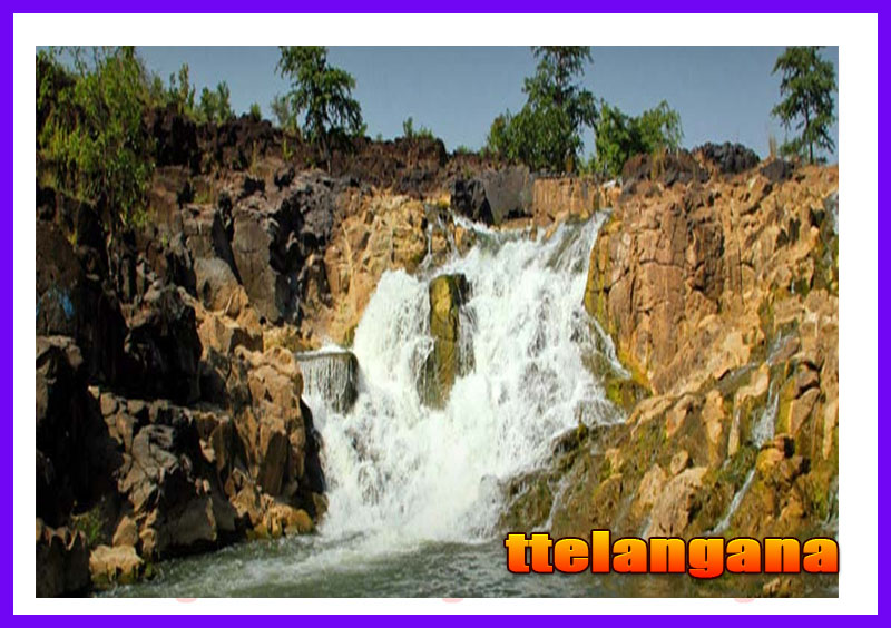 Waterfalls Gayatri in Telangana Nirmal