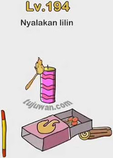 Kunci Jawaban Level 194 Nyalakan Lilin Brain Out