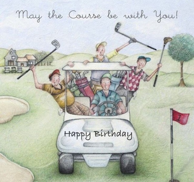 Birthday Wishes for Golfers (Ball Sport Lovers)