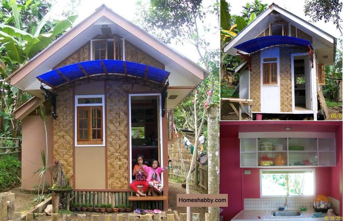 Inspirasi Desain Rumah Kecil Dengan Biaya 15 Juta Tampil Lebih Unik Dan Luar Biasa Homeshabby Com Design Home Plans Home Decorating And Interior Design