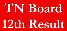 TN Board 12th Result