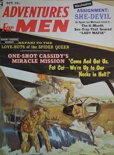 Adventures for Men - October 1959