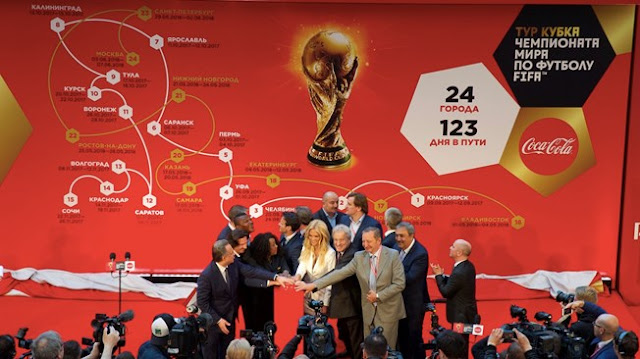 2018 FIFA World Cup Trophy Tour Schedule