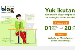 Lomba Blog Website Vs. Marketplace