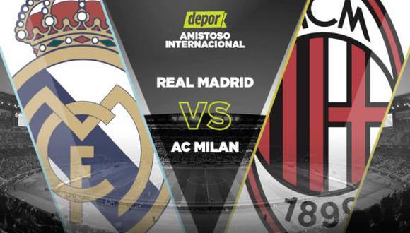 Real Madrid vs. Milan EN VIVO: incidencias de amistoso en Austria