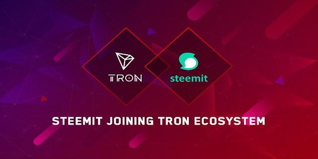 Blockchain-powered social media platform Steemit to join TRON foundation