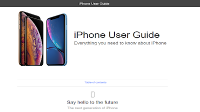 iPhone User Guide iOS 12
