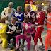 Power Rangers manauaras invadem voo da Azul a caminho da Expedição 4×4 da DMK; veja vídeos