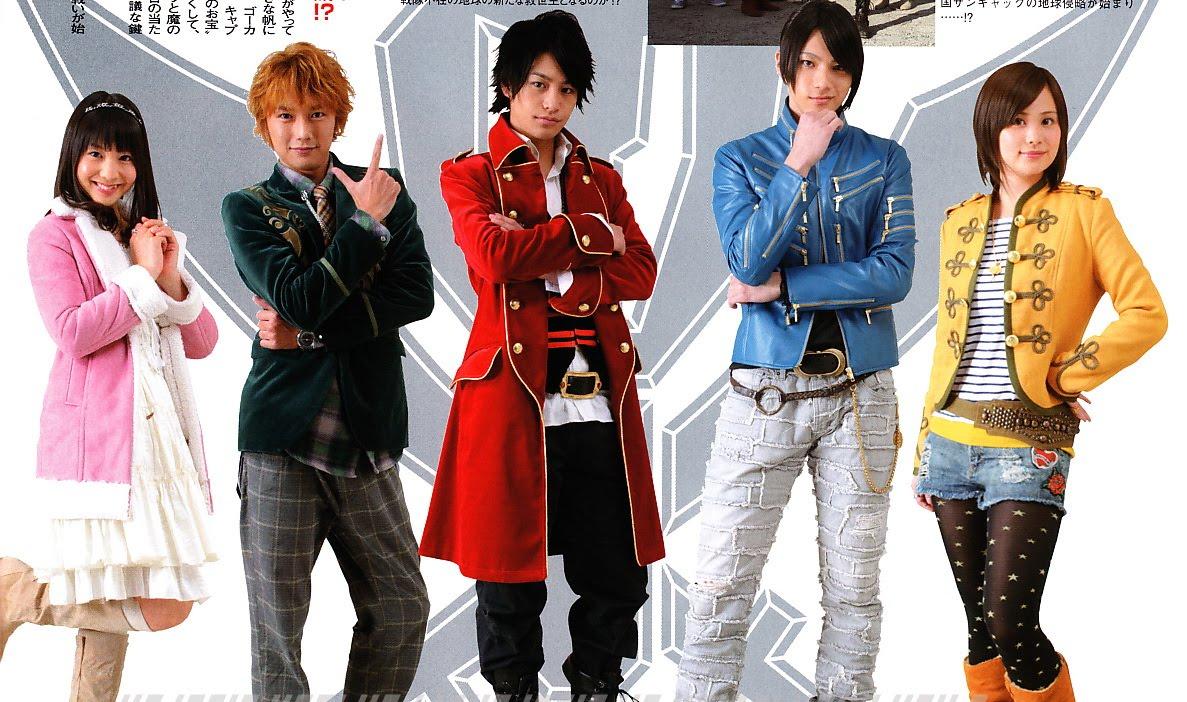 Sunday Jump Magazine: Review: Kaizoku Sentai Gokaiger