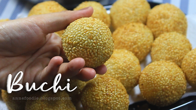 This is how to make Buchi without sinking, droop, lose firmness, sag or flattened after cooking.
