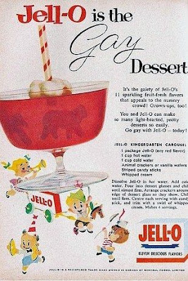 Jell-O is the Gay Dessert