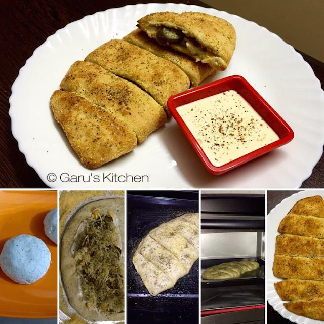 dominos style stuffed garlic bread recipe | stuffed garlic bread stick recipe | how to make garlic bread