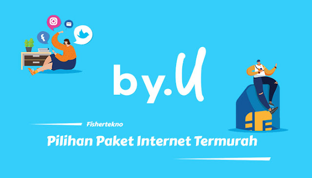 Pilihan paket internet by.U terbaik