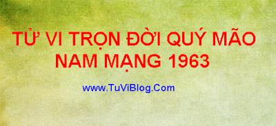 XEM TU VI TRON DOI QUY MAO 1963