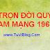 TỬ VI TRỌN ĐỜI TUỔI QUÝ MÃO NAM MẠNG 1963 1903