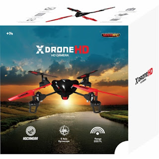WebRC - XDrone Spy Quadcopter G150003