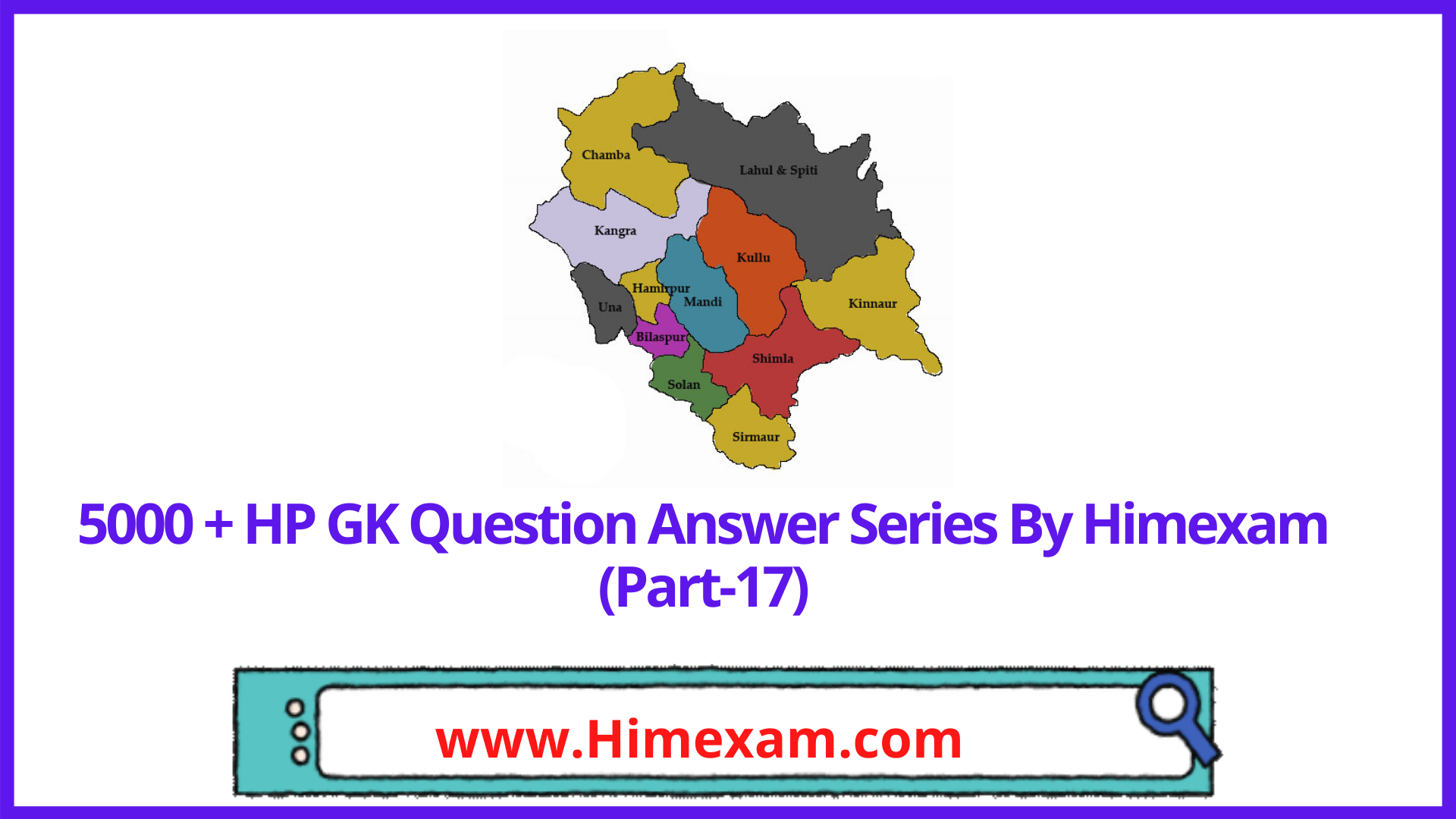 5000 + HP GK Question Answer Series By Himexam (Part-17)