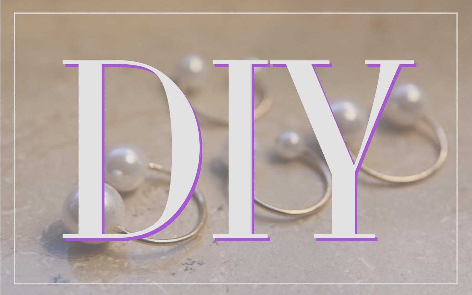 The Paste Blog Diy Pearl Rings