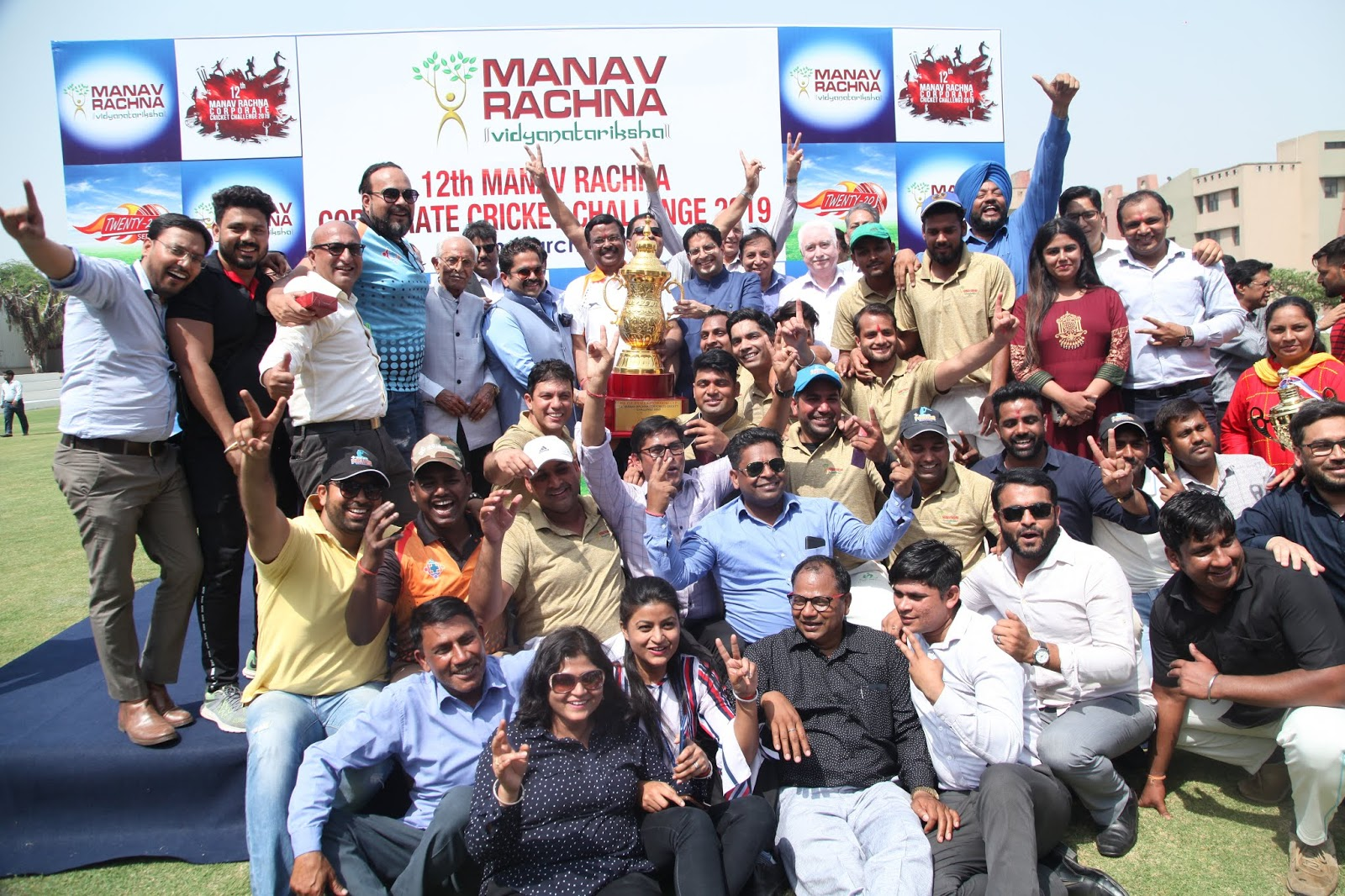 Manav Rachna 12th Corporate Cricket Challenge : WIN Asian Hospital