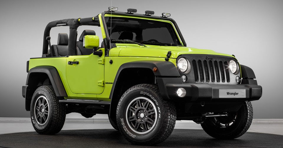 Jeep Rolling Into Paris With Special Moparized Wrangler & Renegade