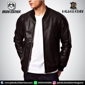 Jual Jaket Kulit Asli Garut Pria Domba Original Brida Leather B110 | WA 08813430588
