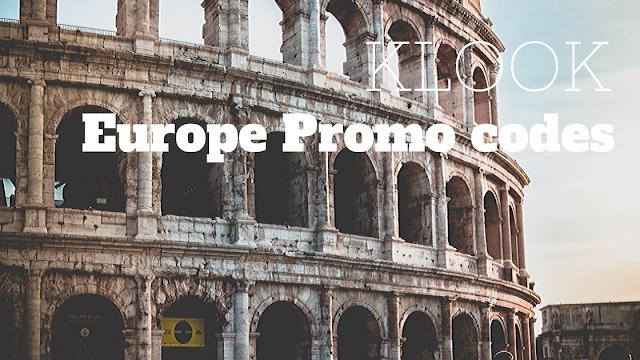 Klook Promo Code Europe