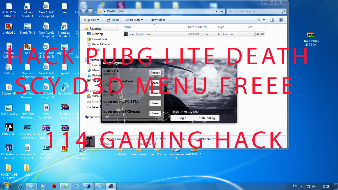 HACK DEATH SCY PUBG LITE UPDATE SOON 2019 FREE - Phần Mềm Game