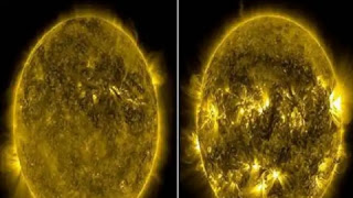 The sun weakens: Light reduces five times, scientist is surprised