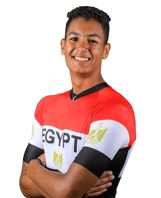 بكر يتصدر  سباق النقاط ويقترب من حصد اول ميدالية لمصر بطولة العالم للدراجات