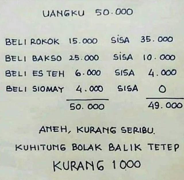 Bisakah kamu memecahkan soal matematika memusingkan ini?