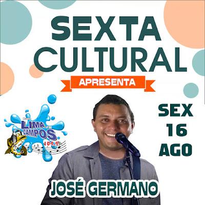 SEXTA CULTURAL NA LIMA CAMPOS FM COM JOSÉ GERMANO FOI SHOW!