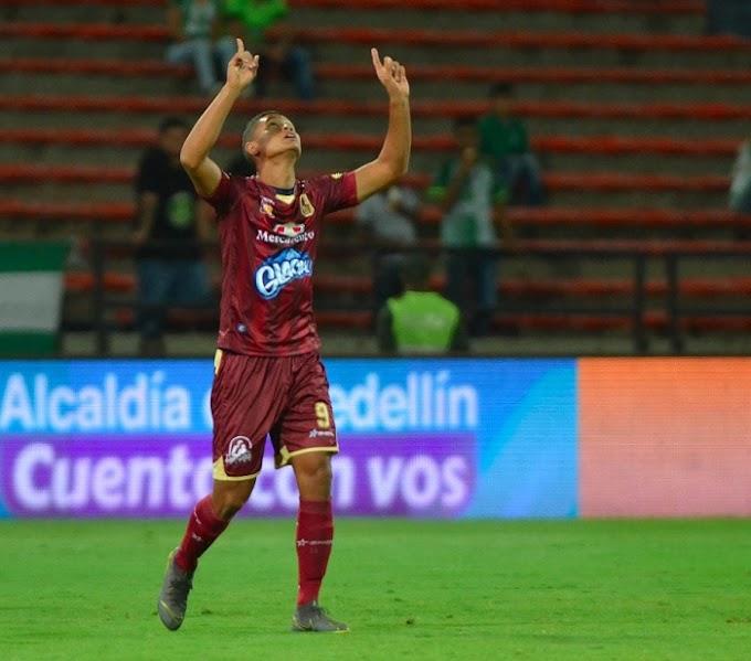 La racha de Jorge Ramos: Tres goles en los últimos cinco partidos con DEPORTES TOLIMA