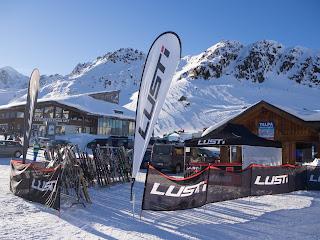 Testování lyží LUSTI Kaunertal