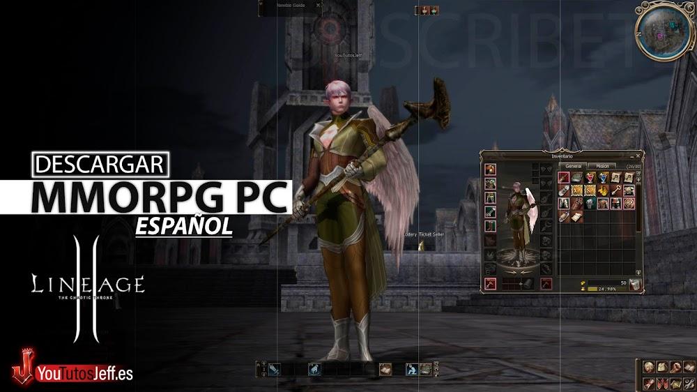 MMORPG para PC, Como Descargar Lineage 2 Ultima Versión