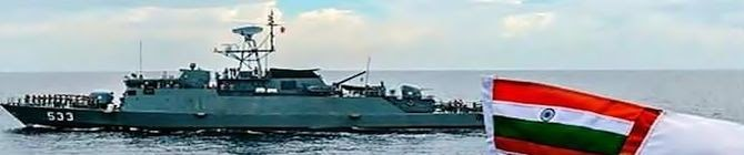 Indian Navy Begins Coordinated Patrols With Thai Navy
