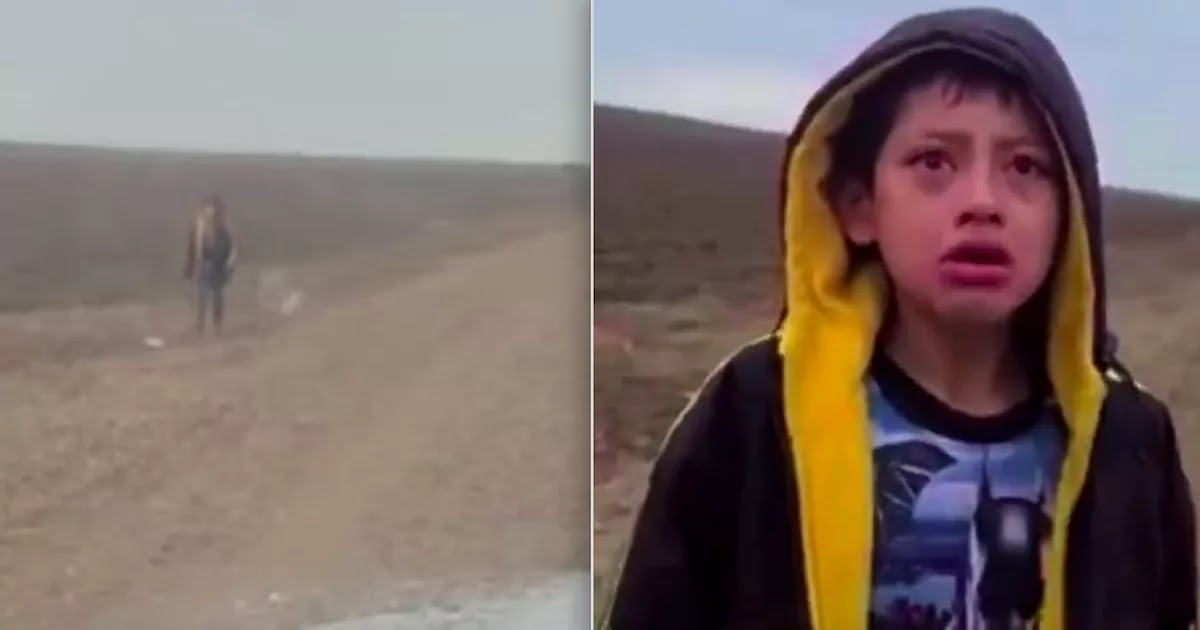 Heartbreaking Video Shows Abandoned 5-Year-Old Migrant Boy In Texas Approaching Border Patrol Officer For Help