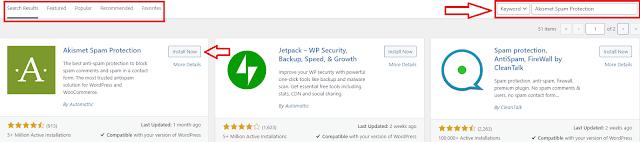 Mencari Plugin WordPress Untuk di Install