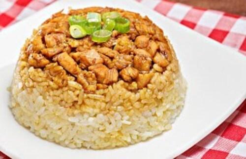 Resep Nasi Tim Ayam Jamur, Mudah dan Enak