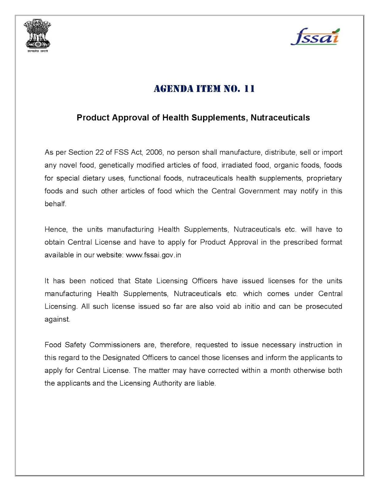 FOOD SAFETY LATEST: Jul 6, 2012