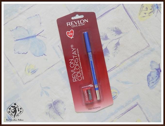 Revlon Colorstay One-Stroke Defining Eyeliner Kajal Sky's The Limit: Review, Swatch