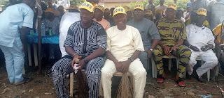 LG Poll: Ogun Residents Drum Support For  Ayorinde, Oluajo Promise 100% Votes  During Election